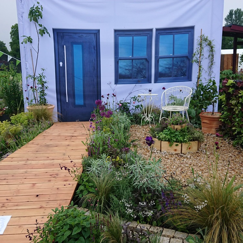 Based on Arabic garden design principles, 'Bayet ...