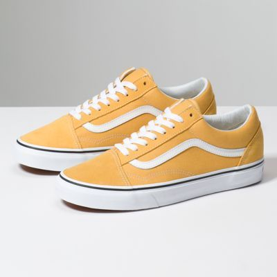 8G1QA0 Old Skool | Yellow vans, Classic shoes, Vans old skool