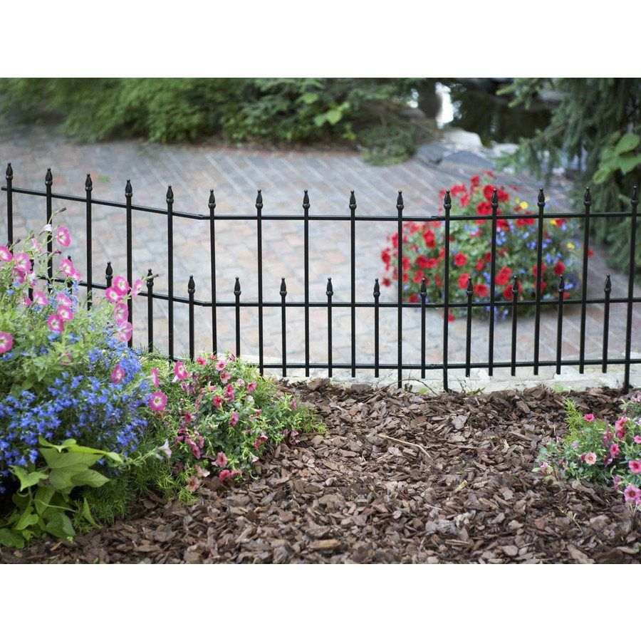 2835 in h x 225 in l empire border fence lowes canada shop unbranded h x l empire border fence at lowes canada find our selection of garden utility fencing at the lowest price guaranteed with price match baanklon Image collections