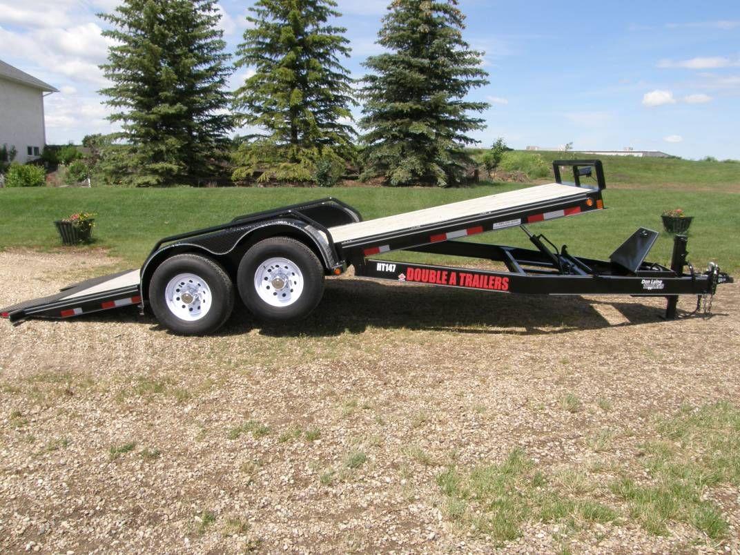 Double A Hyd Tilt Trailer Tilt trailer, Car hauler