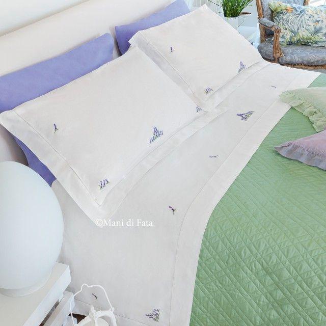 26aae15043 Lenzuola matrimoniali complete di lenzuolo sotto senza angoli e doppia  federa, confezionate in puro cotone