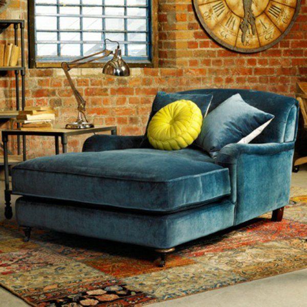 schlafsessel wohnideen komfortabel plüsch grün wohnung wohnzimmer - Wohnzimmer Design Grun