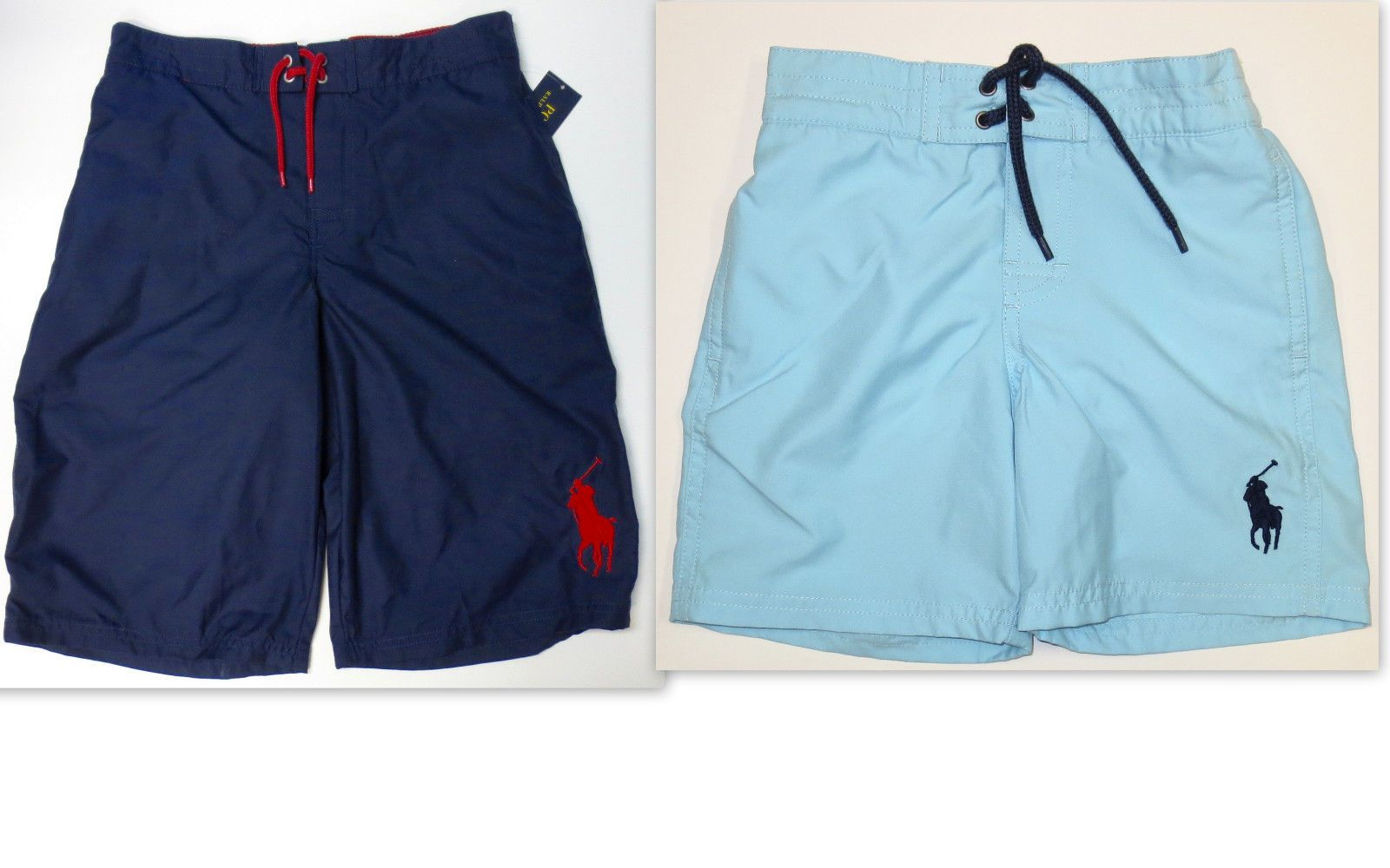 Swimwear 147339: Polo Ralph Lauren Boys Size 3 3T Swim Trunk Kids Toddler  Boxer Swimwear