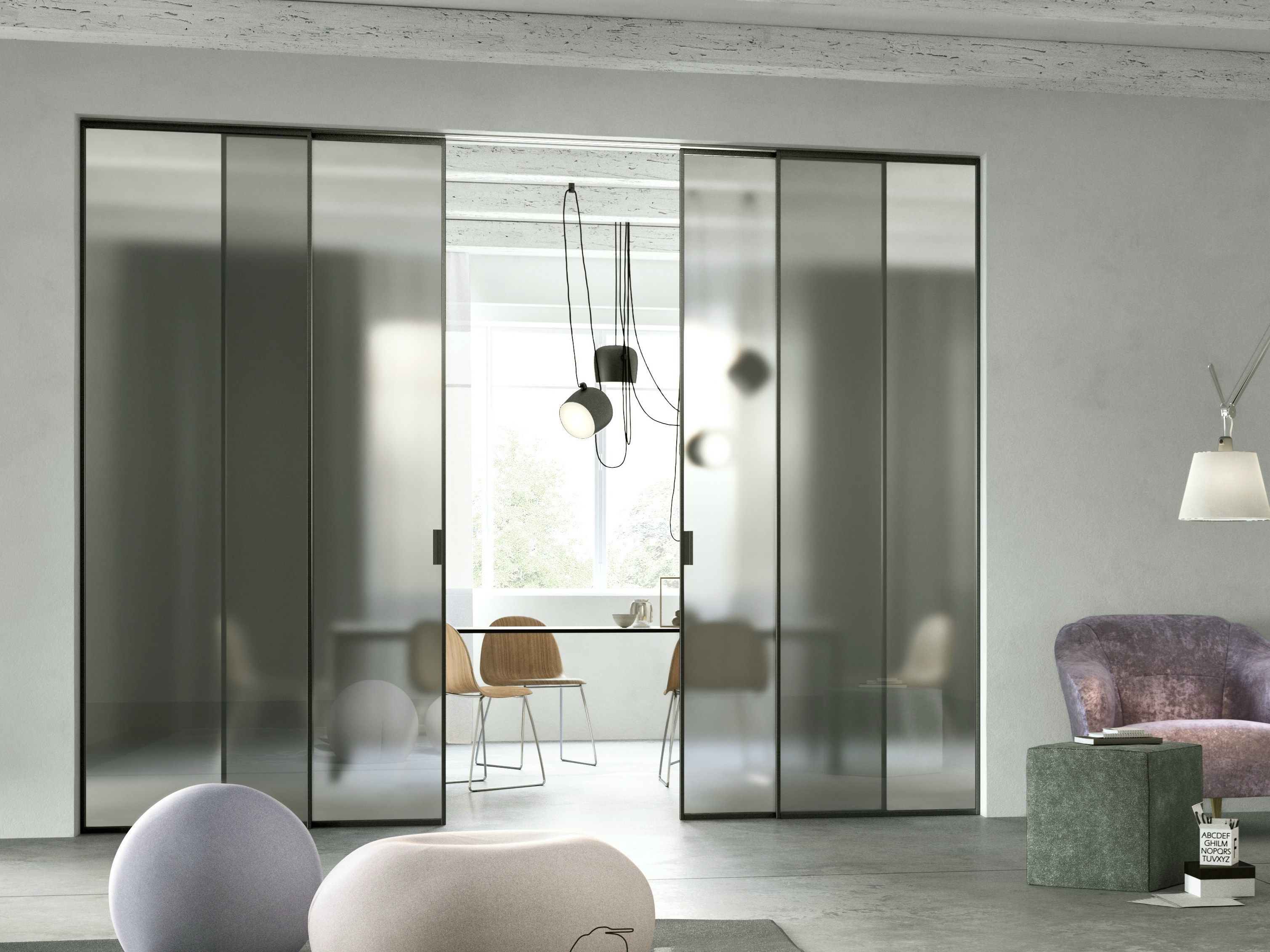 frosted glass office door. GLASS SLIDING DOOR DELINEO E VISIO SCENARIO COLLECTION BY FERREROLEGNO Frosted Glass Office Door