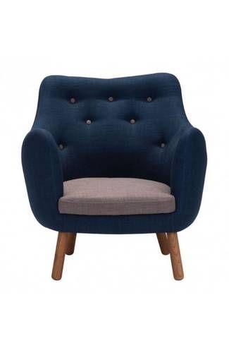 Best Liege Chair Cobalt Blue Chair Zuo Modern Brown Leather 400 x 300