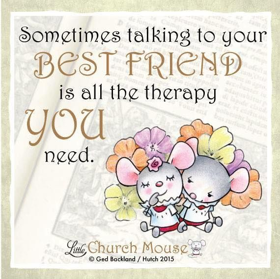 Amen to that! Share with a friend and show them you care ❤️ #LittleChurchMouse