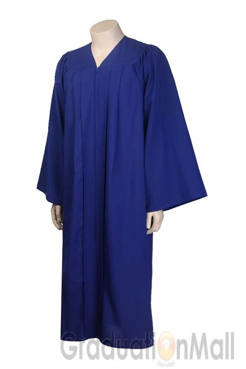 Premium Graduation Gown Only--Royal Blue-$19.95 | Bachelor Gown ...
