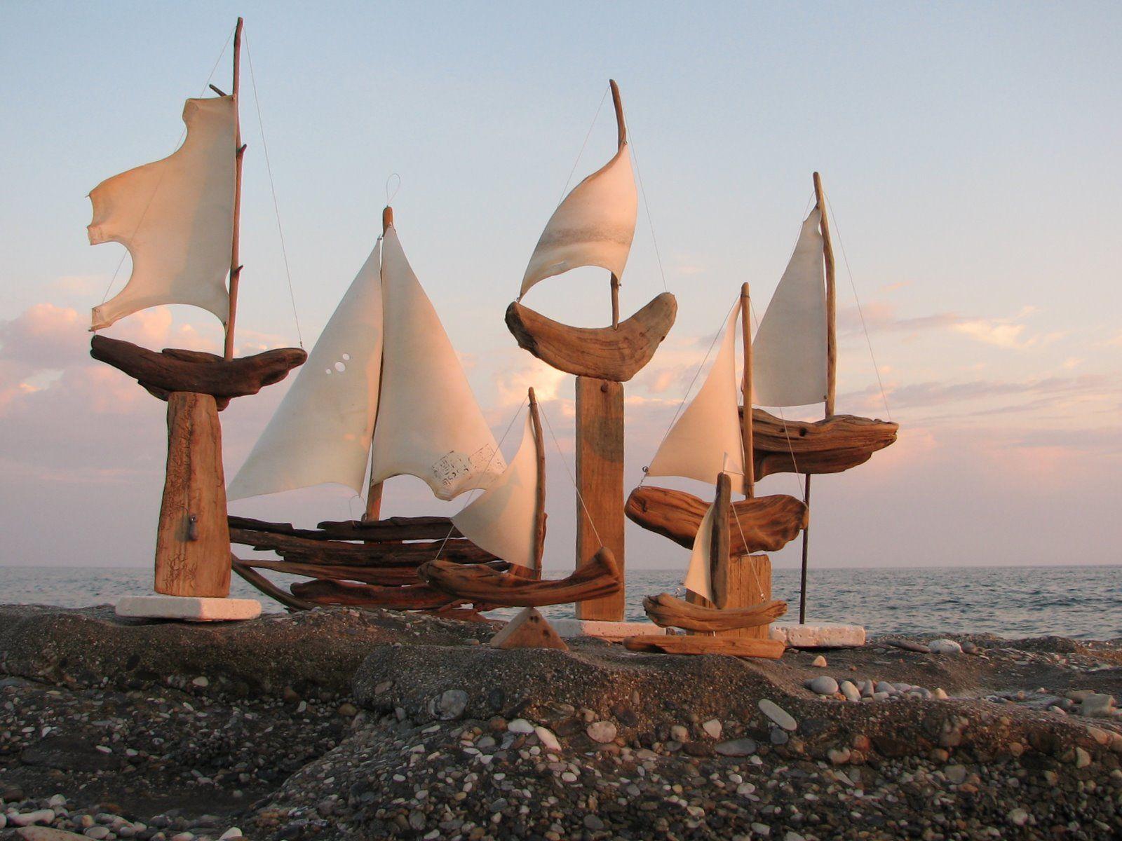 Çerçöp Zanaatı- Driftwood-art- Treibholzkunst- L' art du bois flotté
