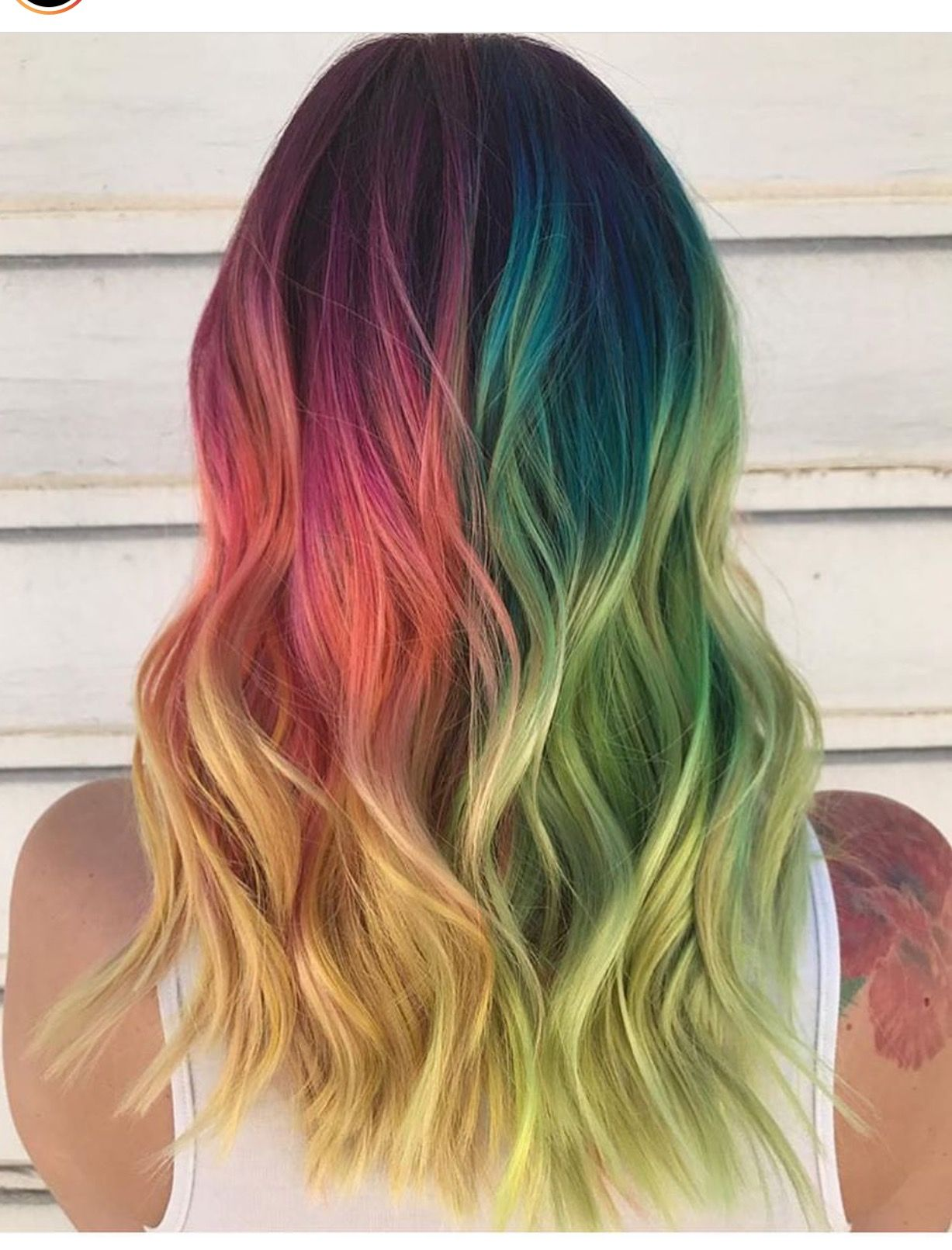 Pin by Kelsey Unrath on Crazy Cool Hair  Pinterest  Hair coloring