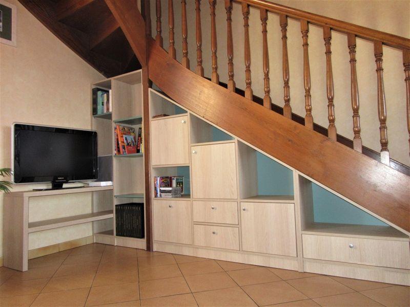 meuble sous escalier amenagement en