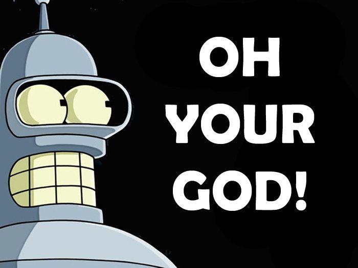 Bender Has The Best Lines Futurama Atheist Futurama Bender