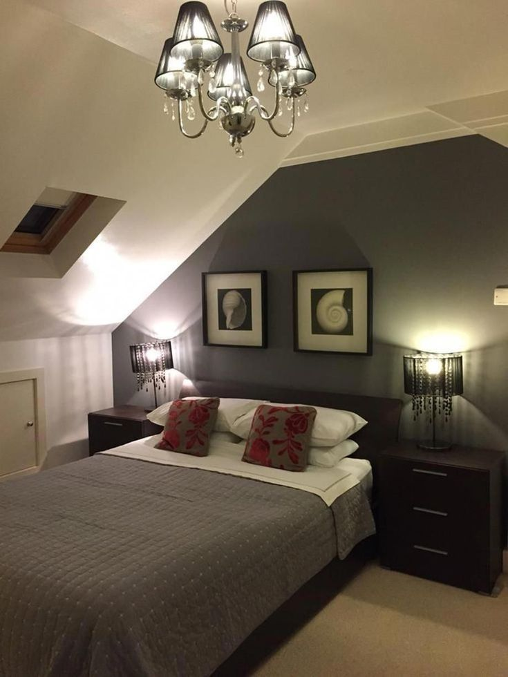 Kleine Dachgeschoss-Ideen für das Schlafzimmer 11 # ...