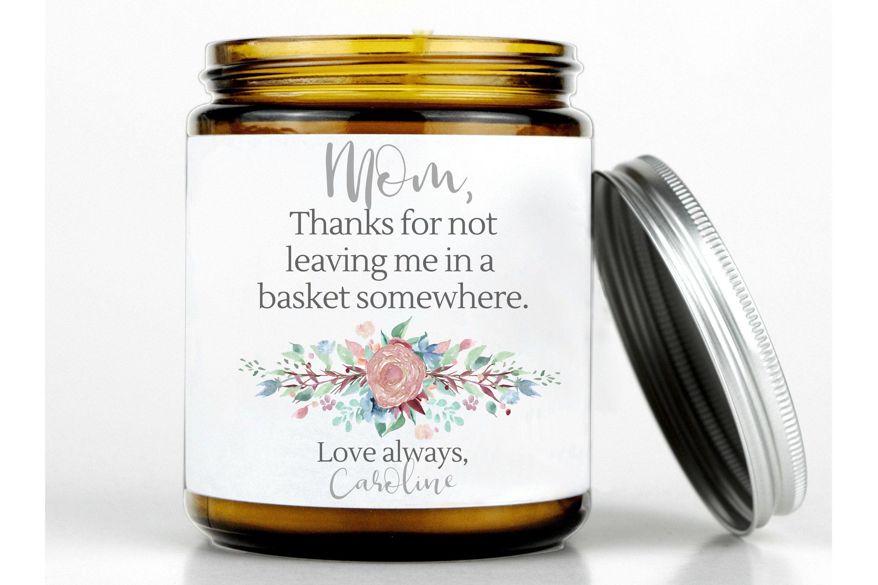 Funny mothers day gift funny mom candle funny gift for