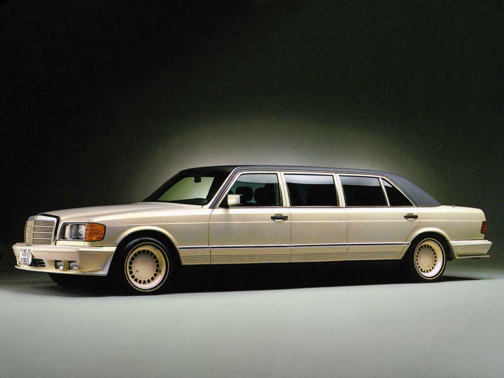 Trasco 1000 SEL Stretch Limousine (W126) | Mercedes benz