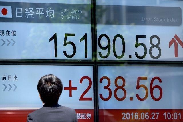 La bourse de Tokyo rebondit après le choc du Brexit