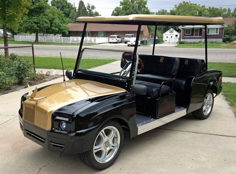 Image result for luxury golf carts