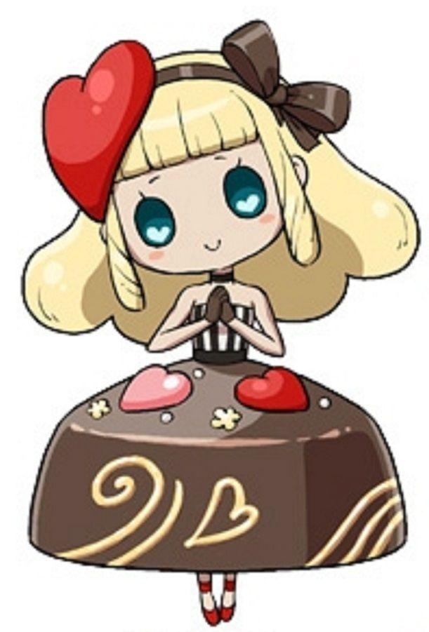 Chocolate Girl Yokai Watch Kawaii Anime Anime Fnaf Character Design