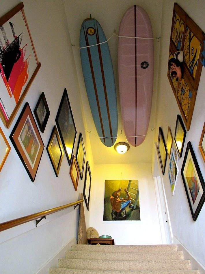 16 Beachy Surfboard Decorating Ideas | Ceilings, Condos and ...
