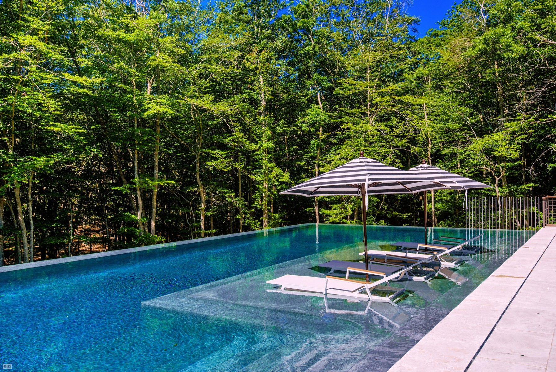 infinity pool (With images) | Modern pools, Ranch style ...