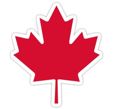 Canada Maple Leaf Sticker By Jbeakers Maple Leaf Canadian Symbols Canada