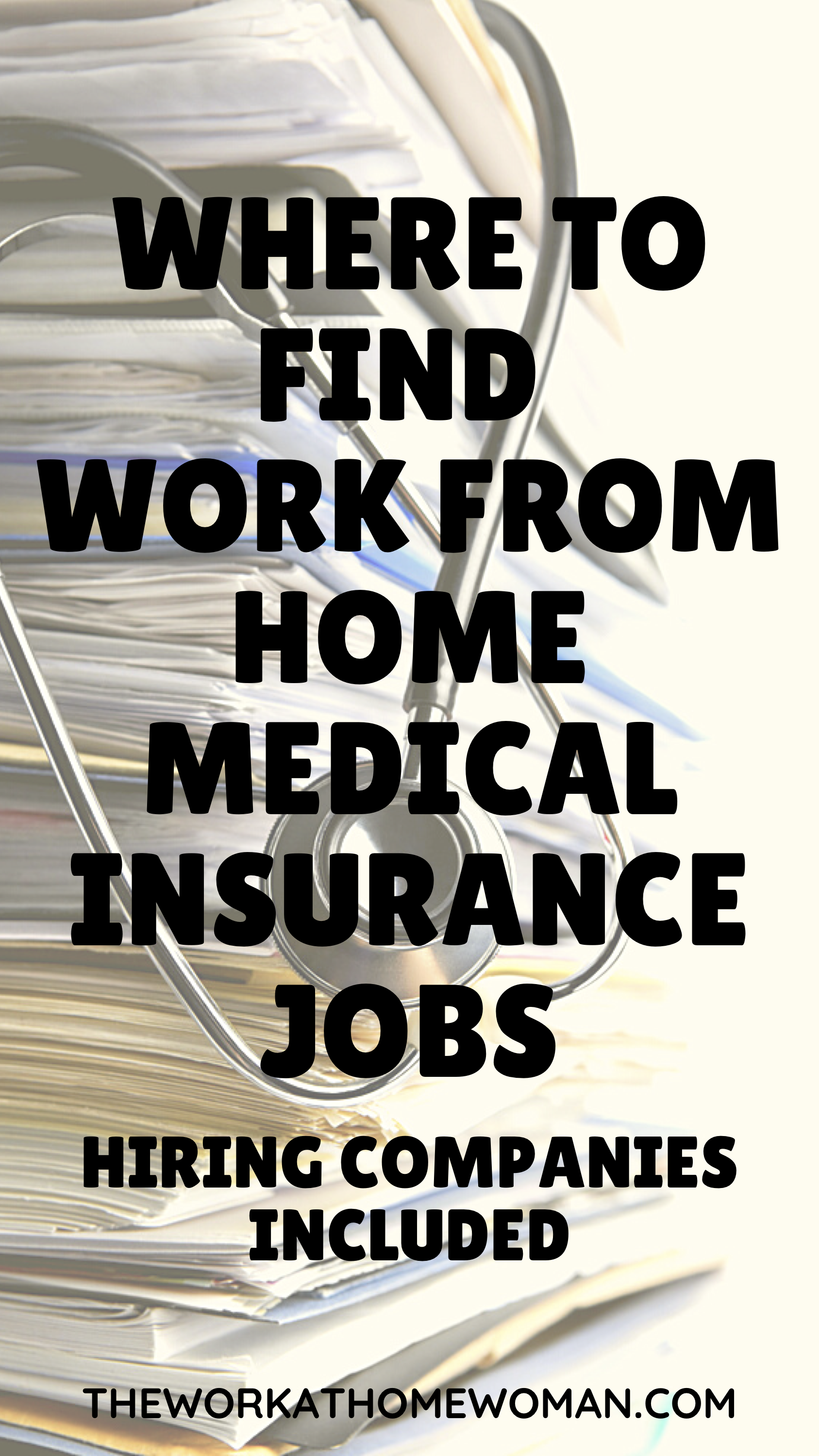 Where To Find Work From Home Medical Insurance Jobs In 2020 Working From Home Legit Work From Home Job