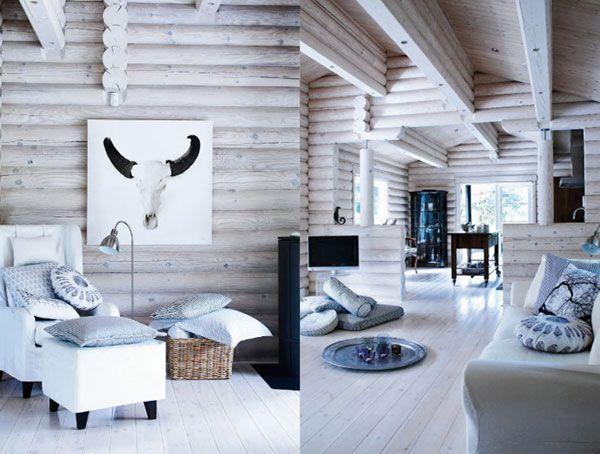 Country vs. Scandinavian Style Cabin Decor | Scandinavian style ...
