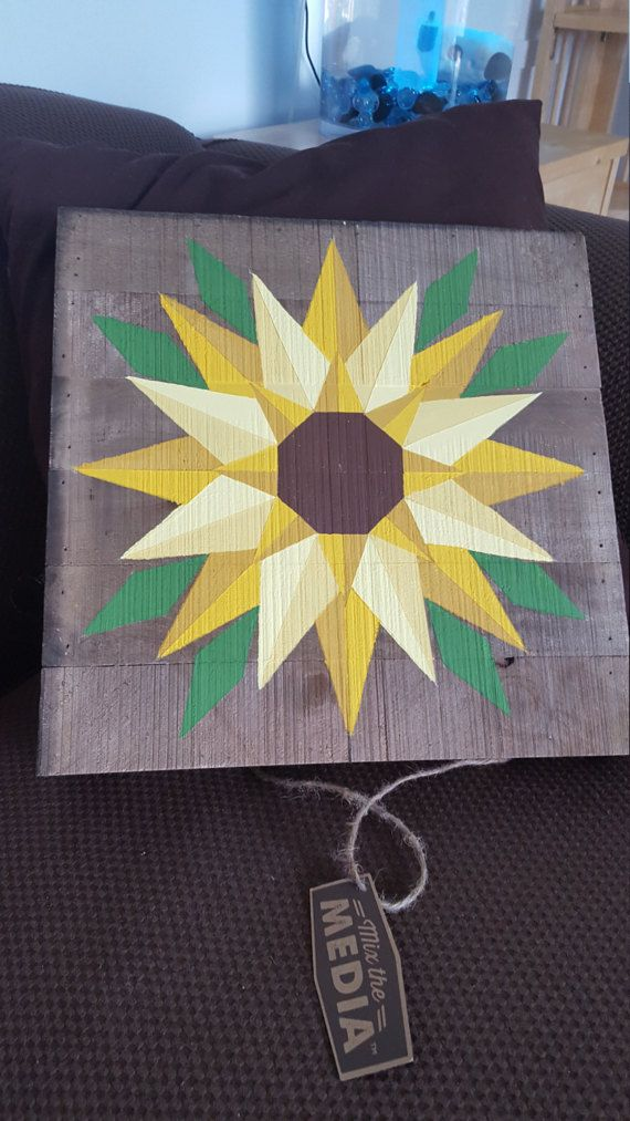 Sunflower Wooden Signs