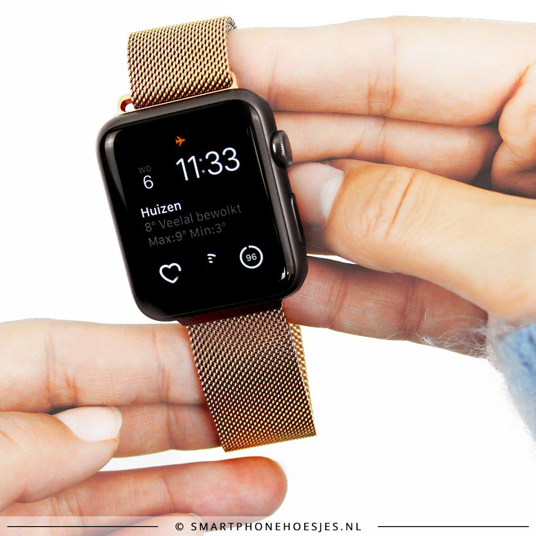ROSE GOLD for your Apple Watch Also available in gold