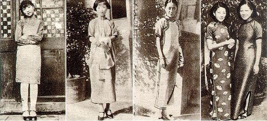 1930s Shanghai Fashion