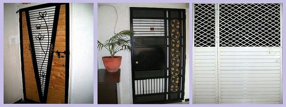 We are a manufacturer and supplier of various types of for Front door grill designs