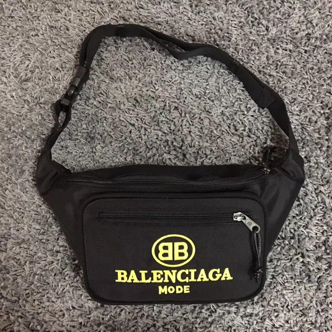Balenciaga waist chest belt bag