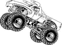 Afbeeldingsresultaat Voor Kleurplaat Blaze Monster Truck Monster