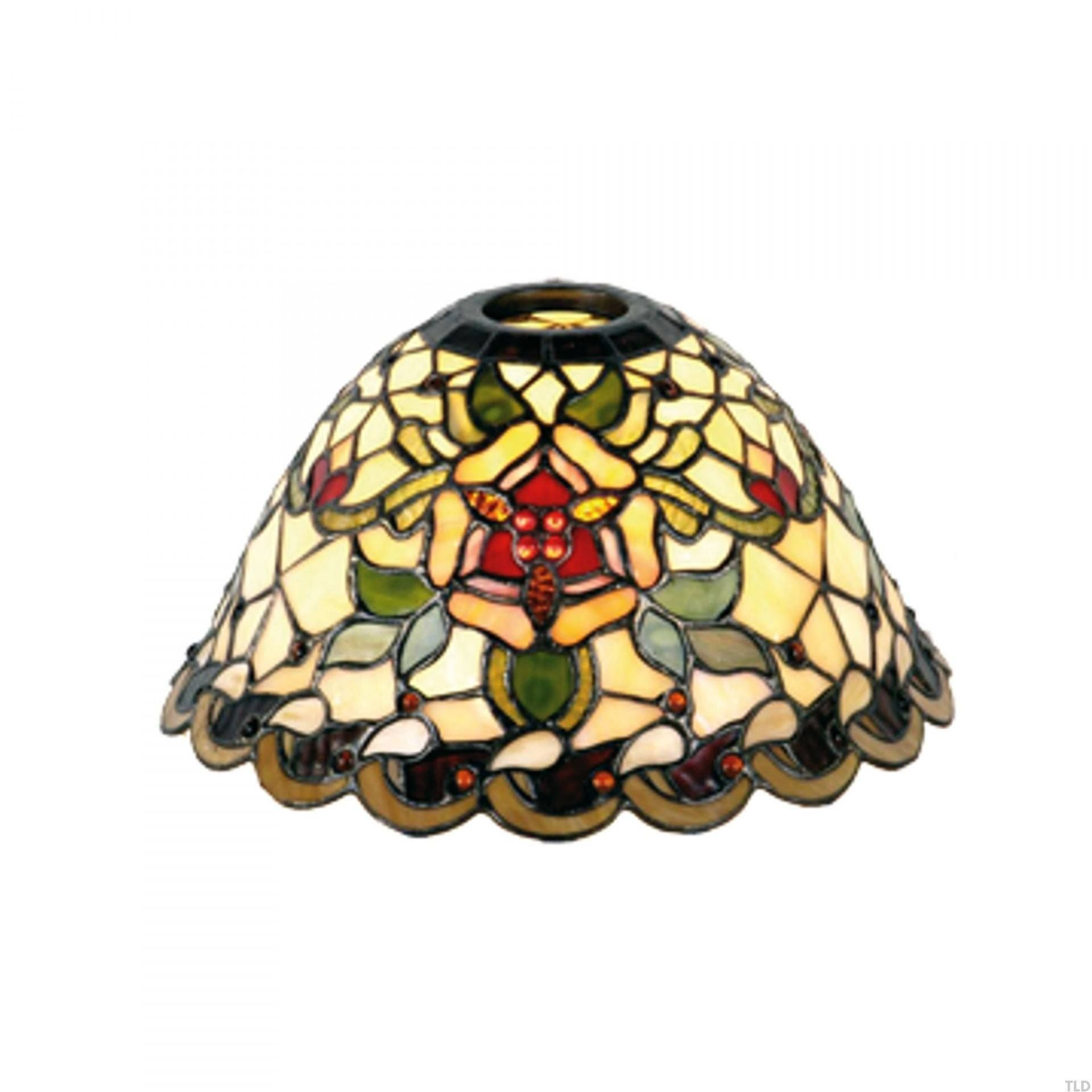 Angelique Narrow Tiffany Replacement Table Lamp Shade