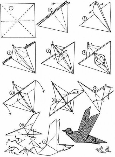 Photo of Best Origami Bird Diagram Ideas,  #Bird #diagram #Ideas #Origami #origamibird