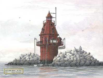 Ship John Shoal, DE. Bay - 1921  (north part of bay)