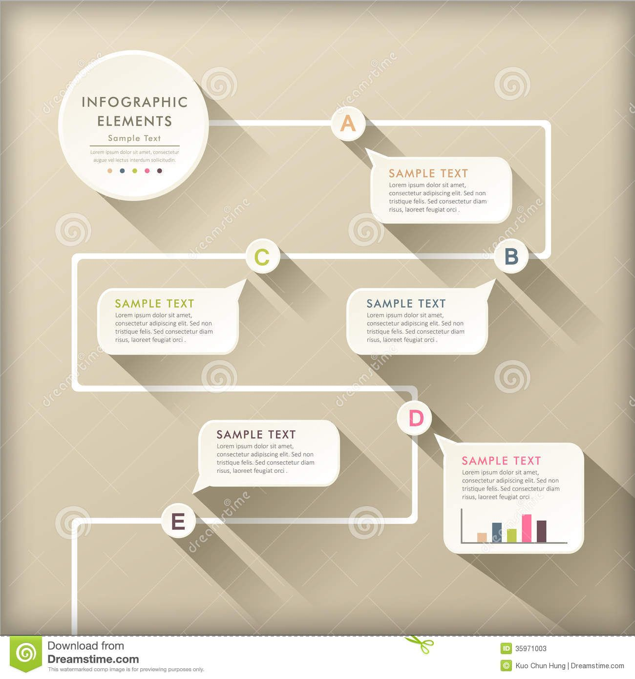 Flowchart infographics google search infographics ecvhs photo about vector abstract flat design flow chart infographic elements 35971003 ccuart Images