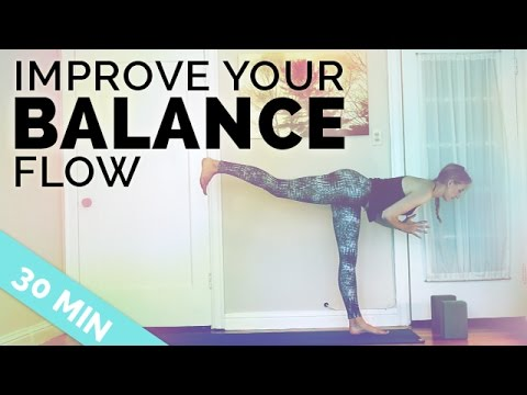 32minsimprove your balance yoga sequence ♥ all my tips to