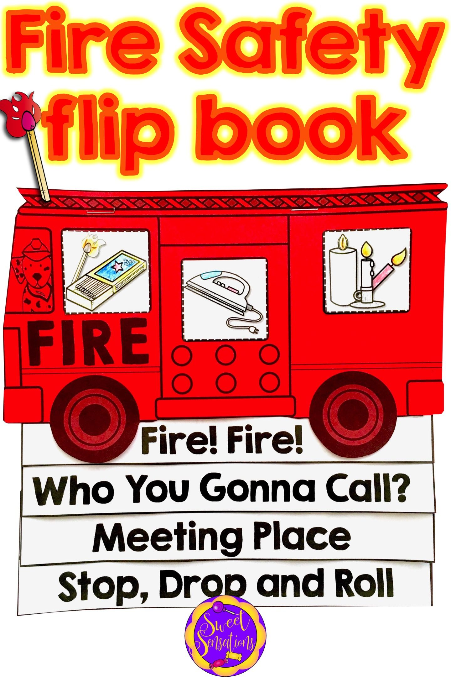 Fire Safety Book With Images