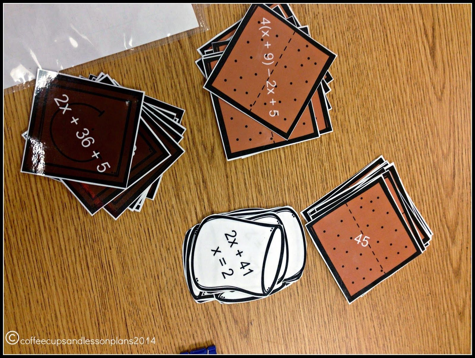 Combining Like Terms Foldable