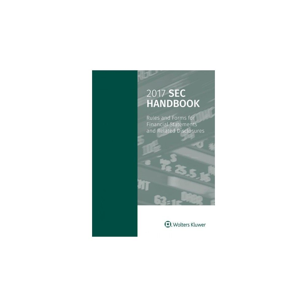 objective for finance resume%0A Sec Handbook        Rules and Forms for Financial Statements and Related  Disclosures  Paperback