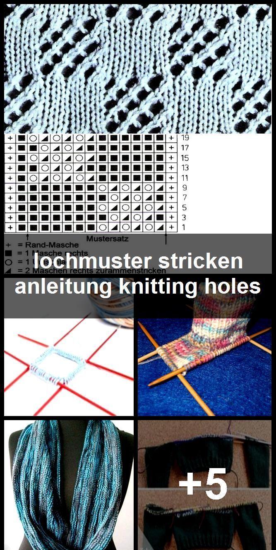 Photo of lochmuster stricken anleitung knitting holes ,  #Anleitung #Holes #Knitting #Lochmuster #loch…