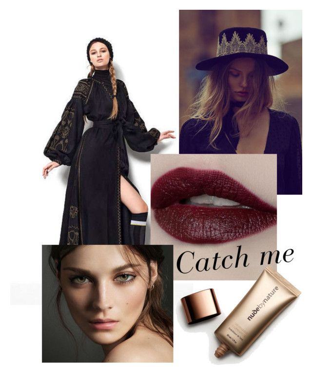 """Catch me"" by mwellman-1 on Polyvore featuring Vita Kin, Burberry and Nude by Nature"
