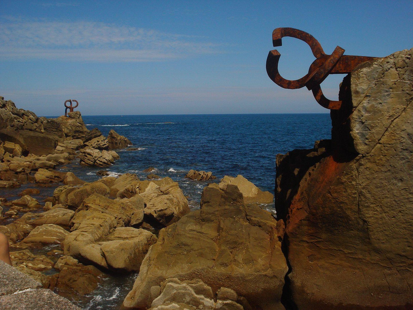 El peine del Viento, Donostia/San Sebastian, España.