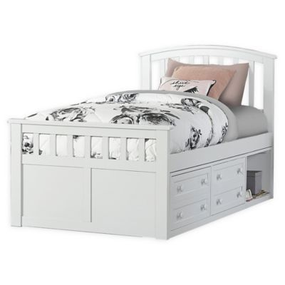 Hillsdale Furniture Charlie Twin Captain S Bed With Storage Unit