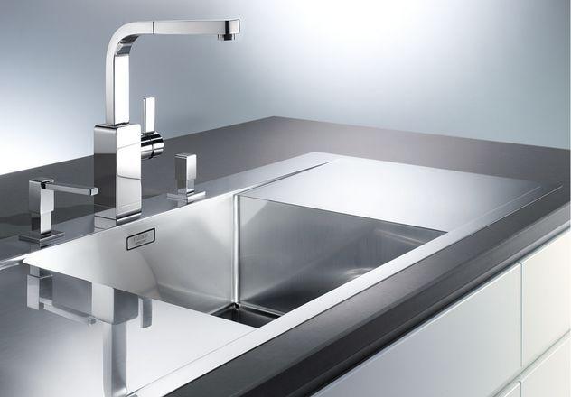 Evier Blancoflow 5S-IF, inox qualité haut de gamme pour cuisine ...