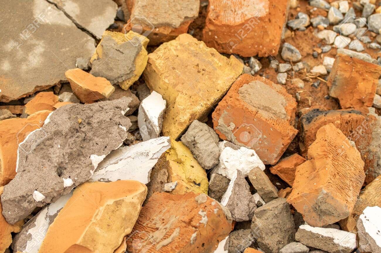 Background Debris Brick Concrete Plaster Crushed Stone Stock Photo Sponsored Affiliate Brick Concrete Background Debris In 2020 Crushed Stone Food Brick
