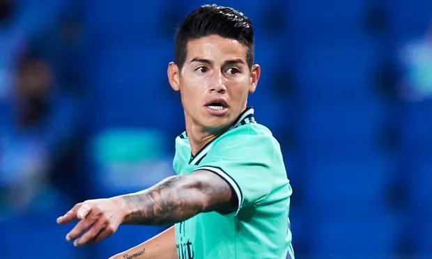 Football Transfer Rumours Real Madrid S James Rodriguez To Everton James Rodriguez Everton Football Transfers