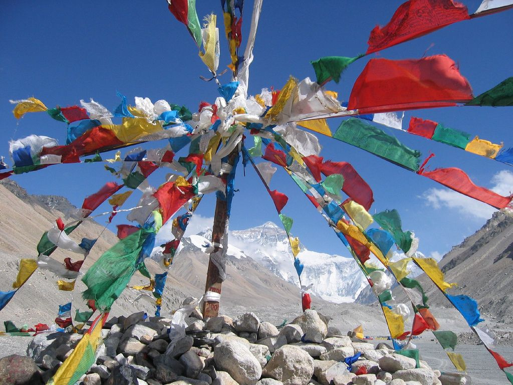 Tibetan Prayer Flags At Everest Base Camp Quiet Room Tibetan Prayer Flag Prayer Flags Flag