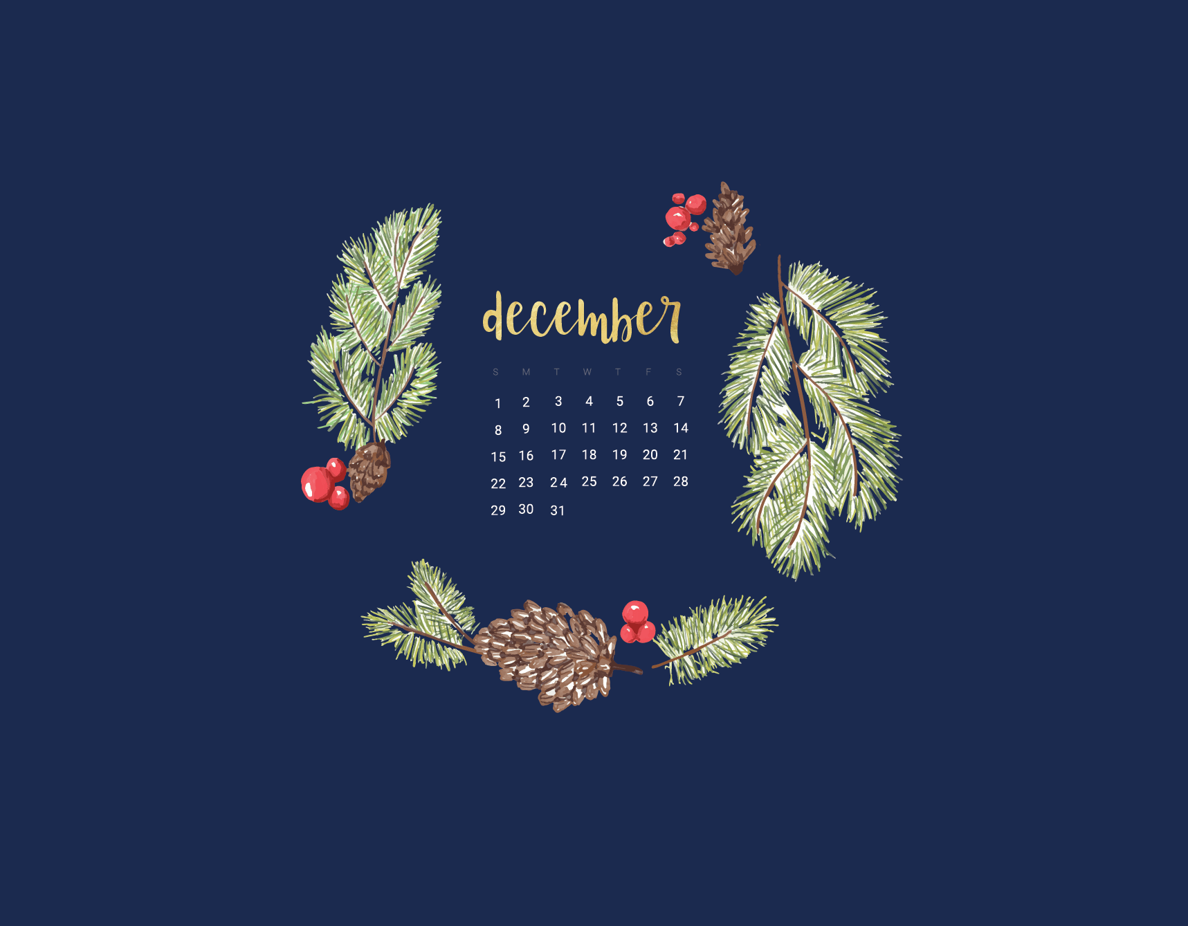 Floral December 2019 Wallpaper Calendar Wallpaper Desktop Wallpaper Calendar Christmas Desktop Wallpaper