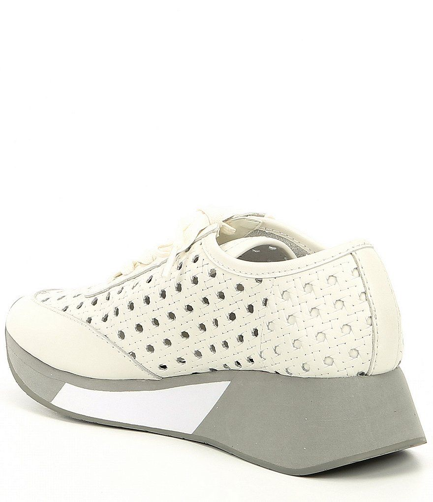 Donald Pliner Prit Woven Leather Wedge